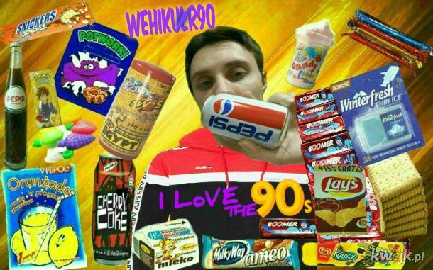 Słodycze z dzieciństwa 90s / smaki /