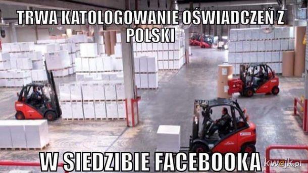 Tymczasem w siedzibie Facebooka