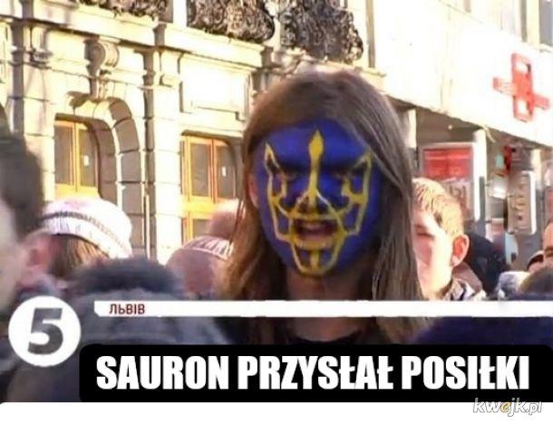 Sauron dołącza do walki o Krym