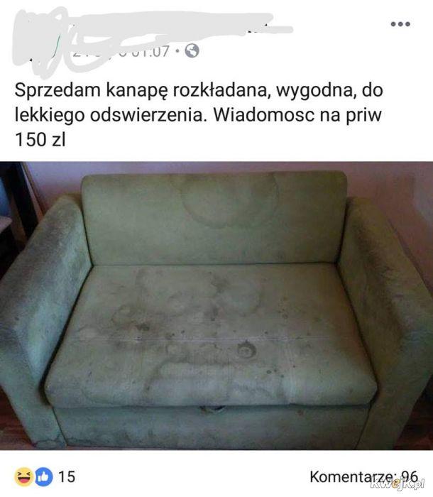 Sofa na wydanie