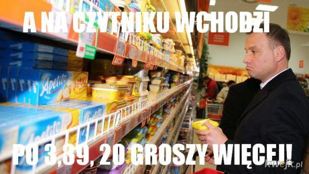 Duda w Supermarkecie