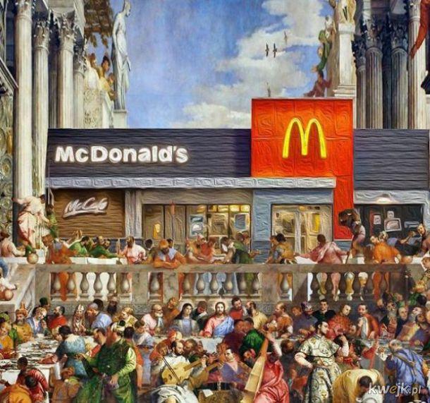 Ostatnia wieczerza w McDonalds
