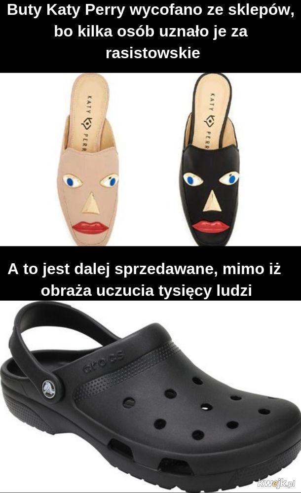 Poprawność polityczna lvl buty