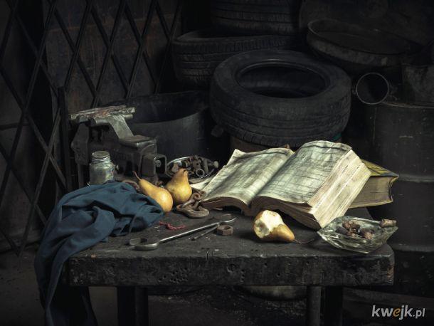 Renesansowe obrazy odtworzone przez mechaników samochodowych