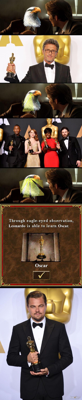 Leonardo DiCaprio eagle eye