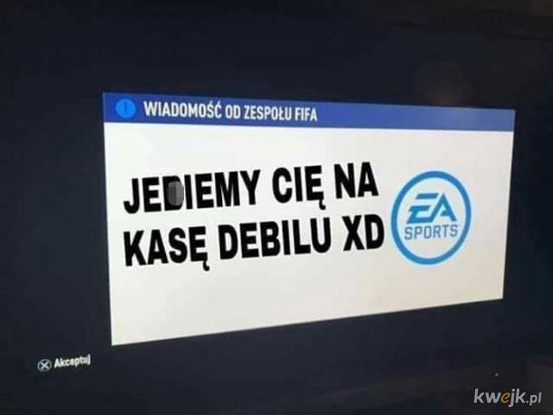 Wiadomość od EA