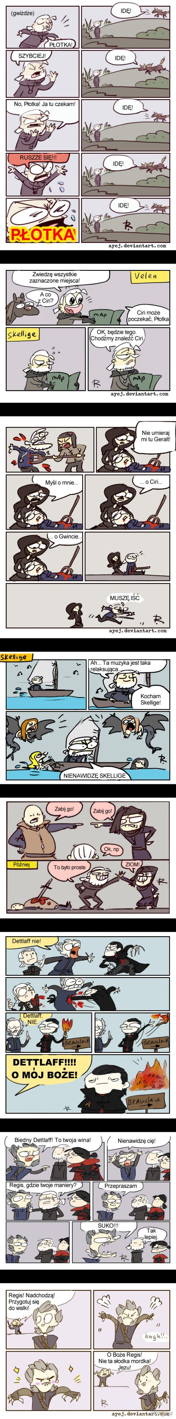 Wiedźminowe Komiksy (by Ayej)