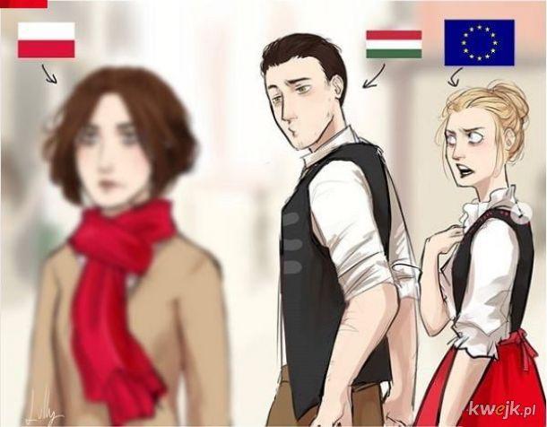 Polska i Węgry.