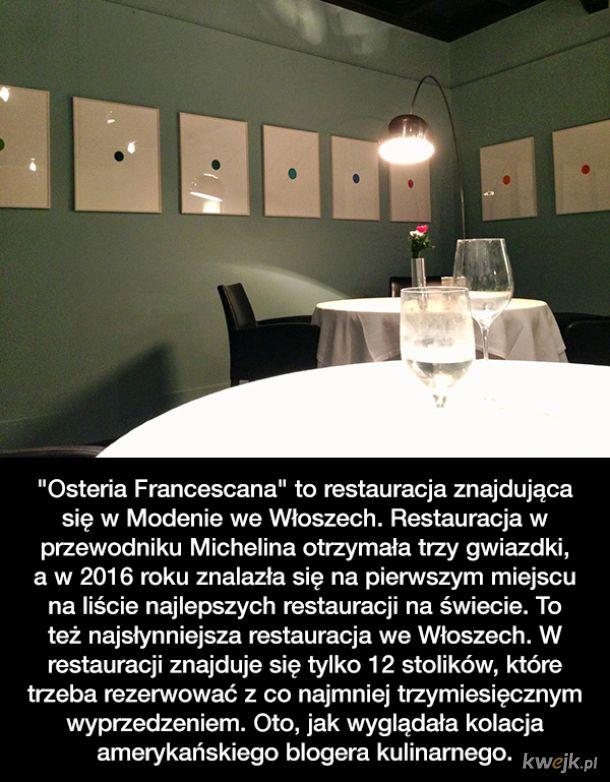 Jak wyglądała kolacja w jednej z najlepszych restauracji na świecie