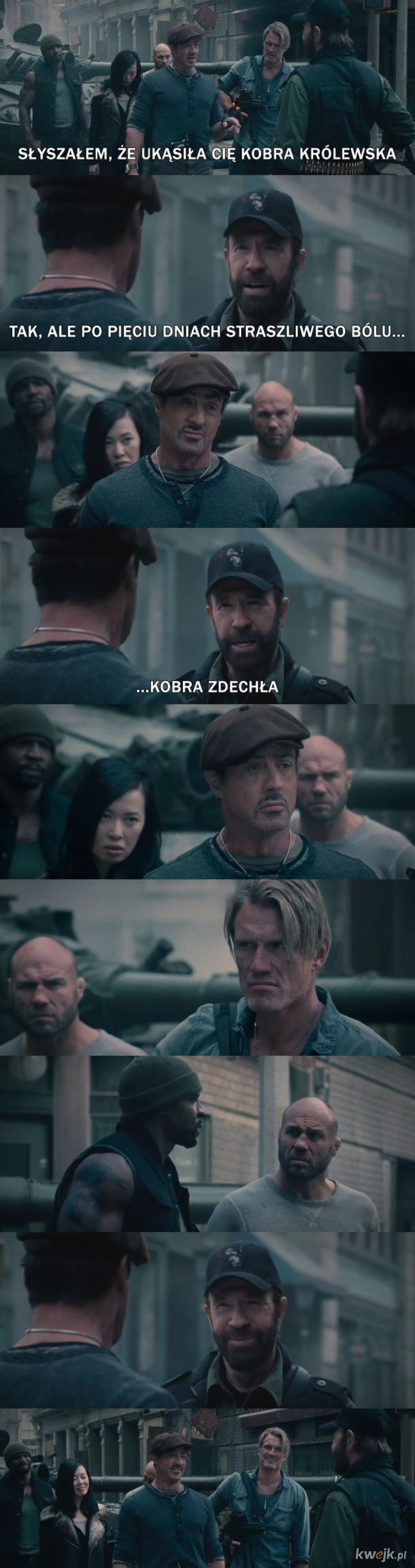His name is Chuck. Chuck Norris.