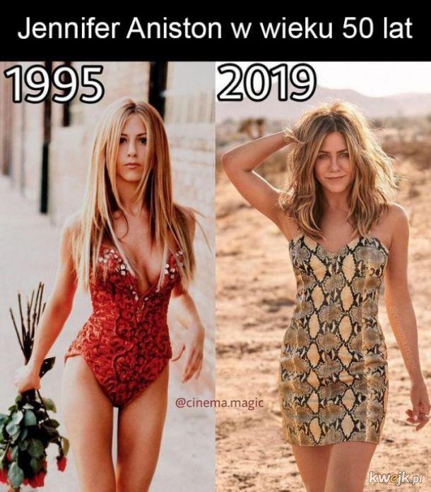Jennifer Aniston kiedyś i dziś