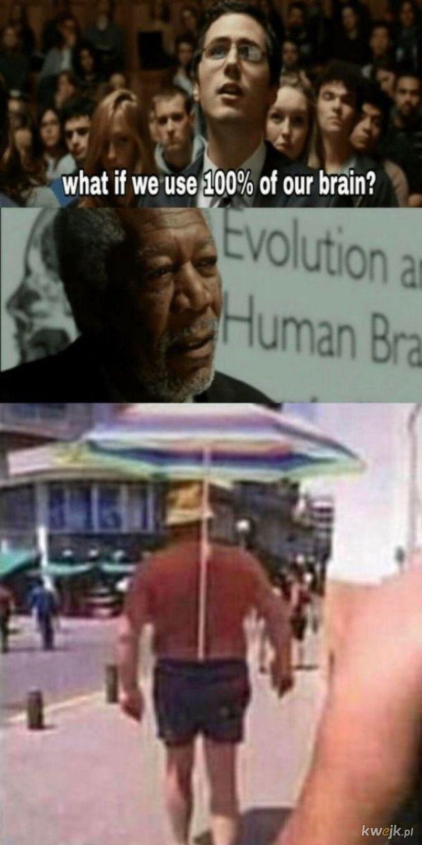 100% użycia mózgu