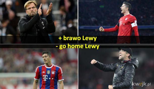 bayern vs liverpool | lewy vs klopp | kto będzie zadowolony w trakcie a kto na koniec?