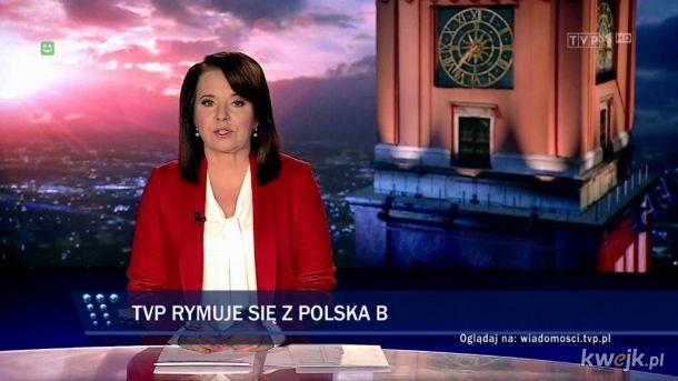 Polska B ogląda TVP