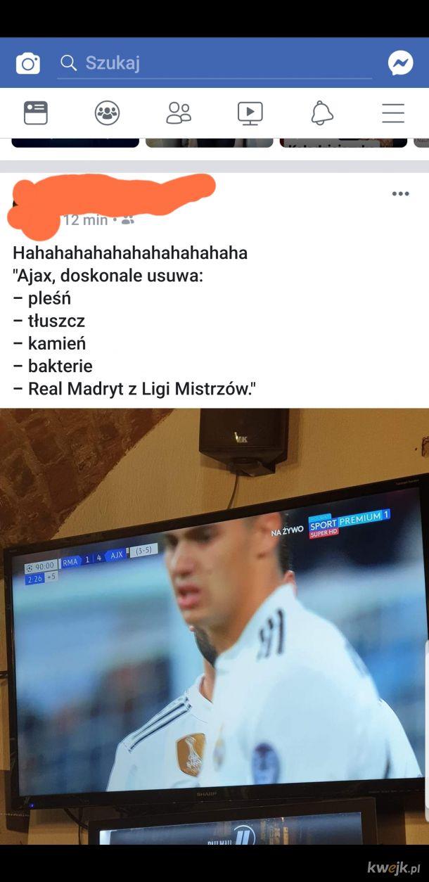 Real Madryt vs Ajax