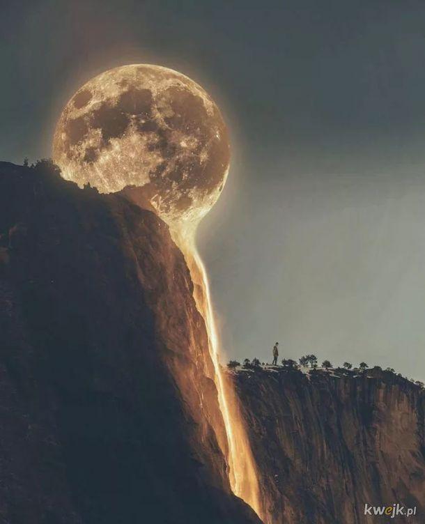 Gdy księżyc jest lawą