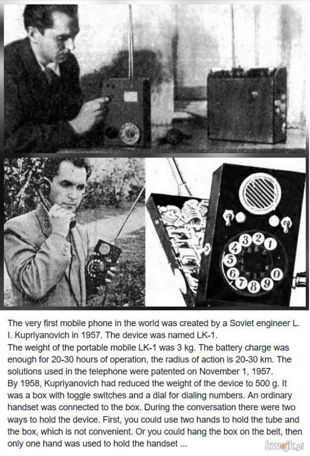 Pierwsza komórka. Dla dzisiejszych hipsterów.