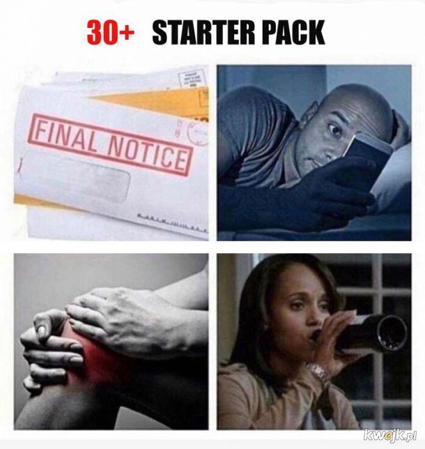 30+ starter pack