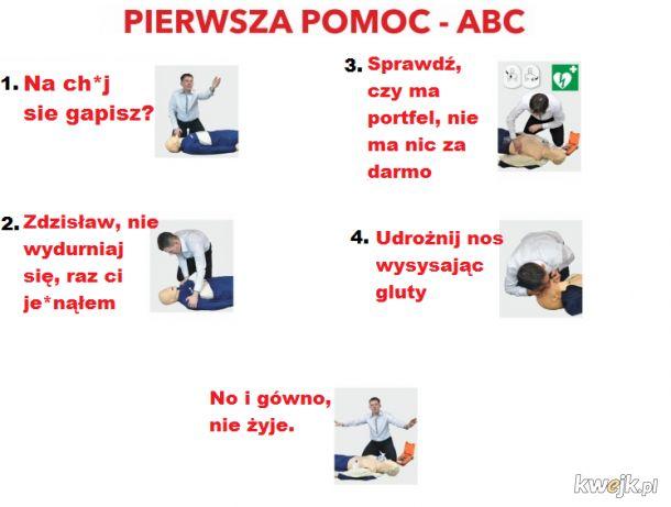 Pierwsza pomoc w Polsce