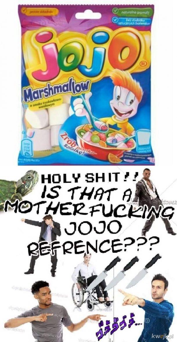 Nikt nie wie, że JoJo miał fabryke słodyczy w Polsce.