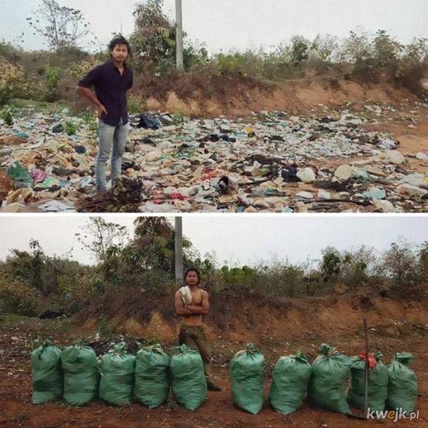 Posprzątaj Ziemię challenge - nie tylko dla lajków