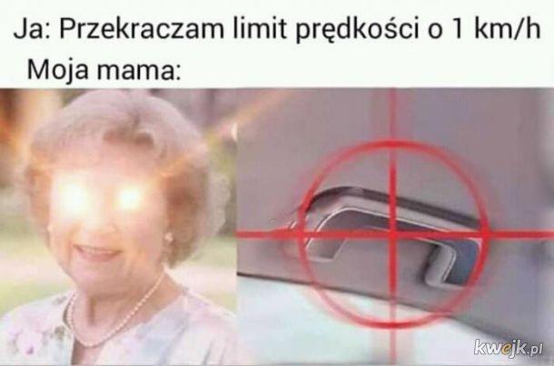 Jeżdżenie z mamą