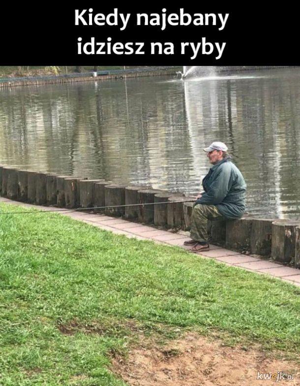 Halina jestem na rybach