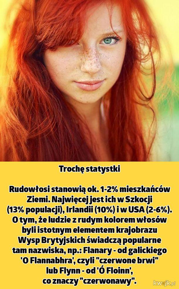Fakty o rudych