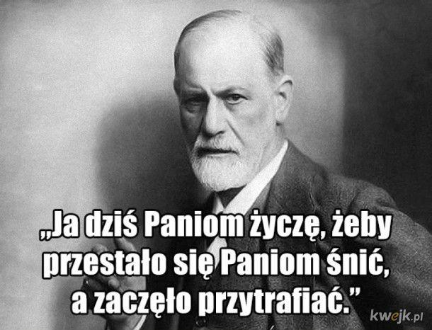 Z okazji Dnia Kobiet tradycyjny Freud
