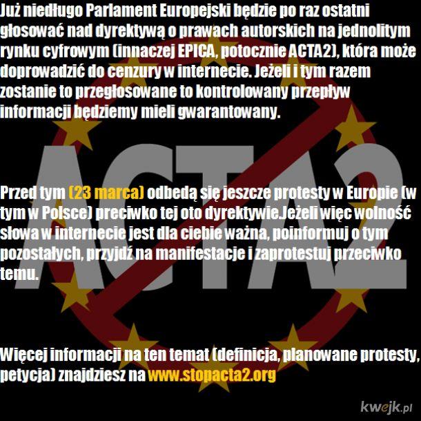 EPICA (ACTA2) - ostatnia szansa