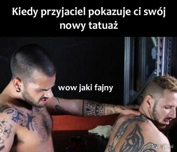 Nowy tatuaż