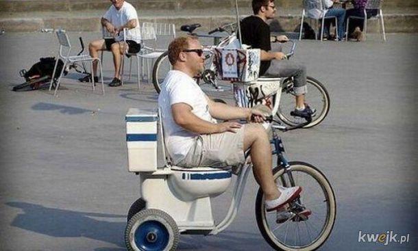 Najdziwniejsze rowery i pojazdy roweropodobne spotkane w przestrzeni publicznej