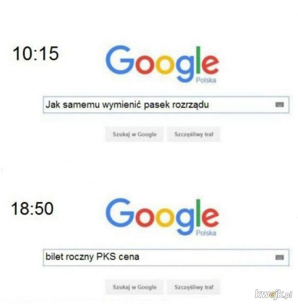 Google zawsze pomoże