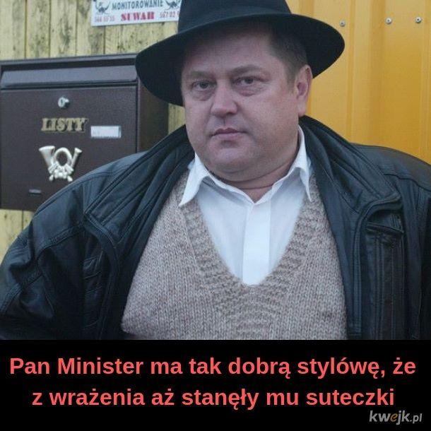 Stylówa Ministra