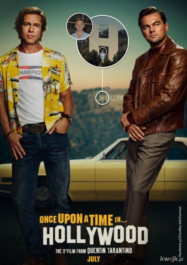 Oficjalny plakat polskiej dystrybucji filmu Tarantino!