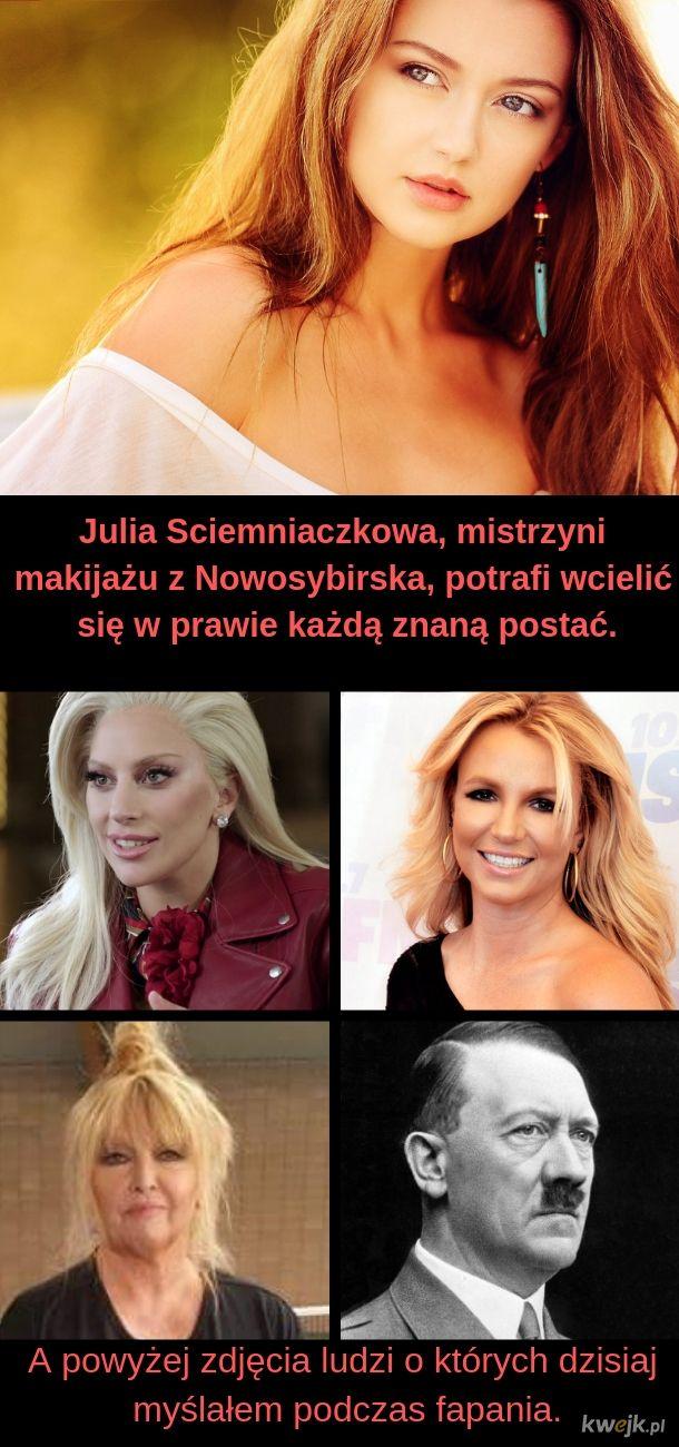 Julia - mistrzyni makijażu