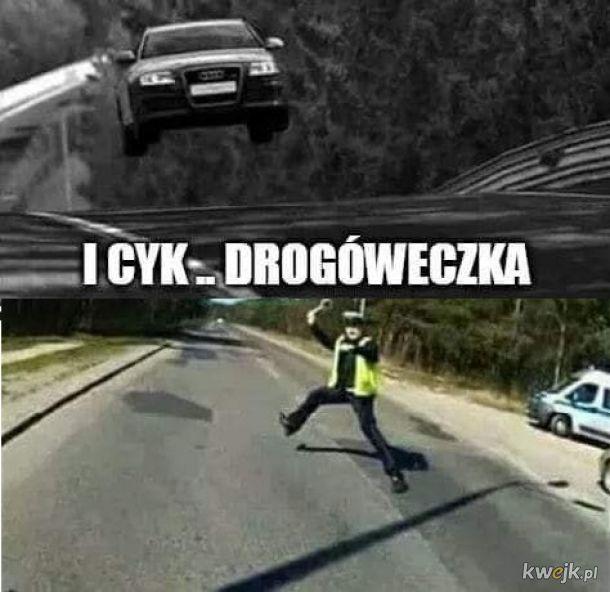 I cyk drogóweczka