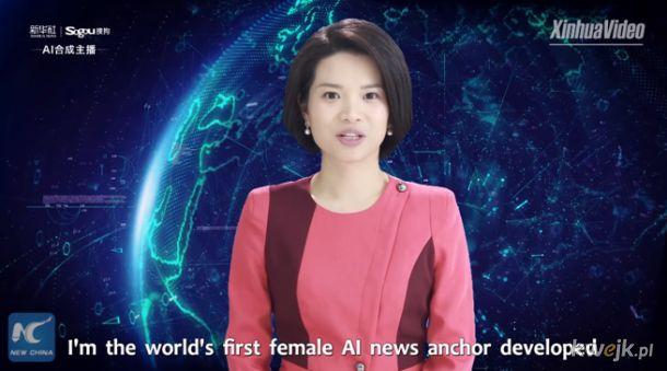 a tymczasem w Chinach - wirtualni prezenterzy