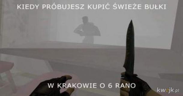 Każdy przecież wie jak Kraków jest niebezpiecznie