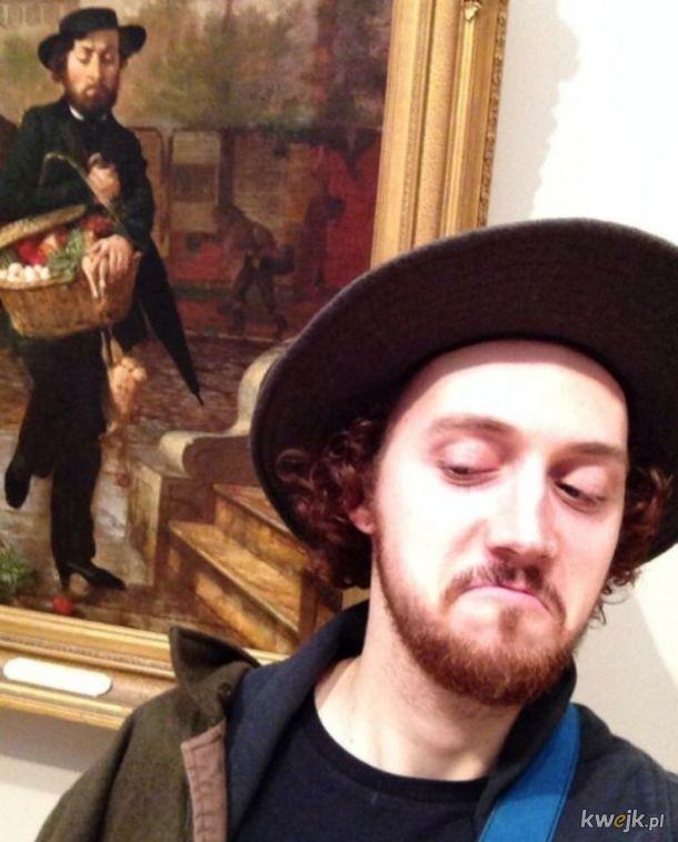 Ludzie, którzy przypadkowo odnaleźli swoje sobowtóry w muzeach i galeriach sztuki