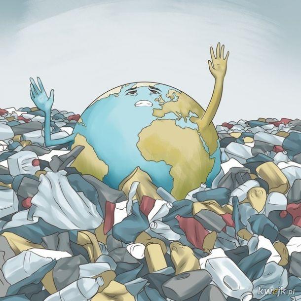 Ilustracje, które pokazują, że z naszym światem coś jest nie tak, obrazek 7