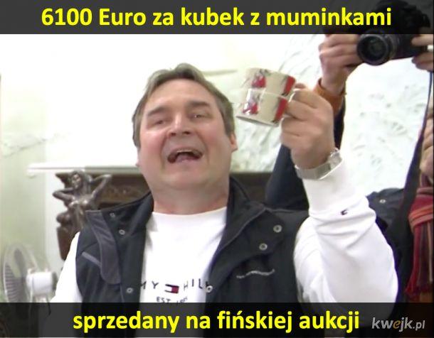 6100 Euro za kubek