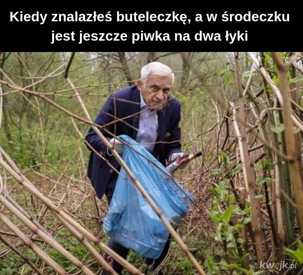 Buzek - spraw se złomiarza wózek