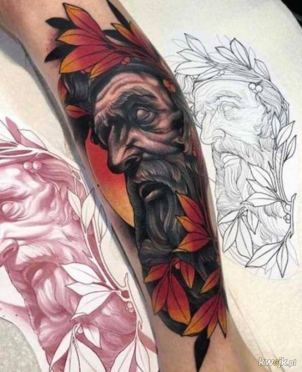 Naprawdę fajne tatuaże