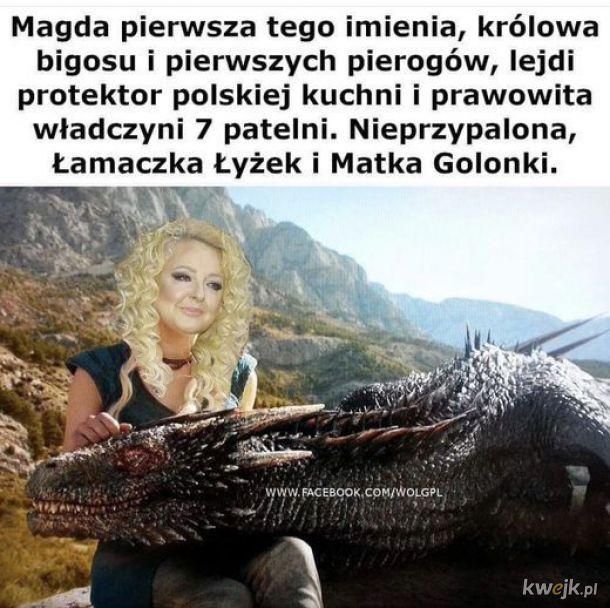 Magda pierwsza tego imienia