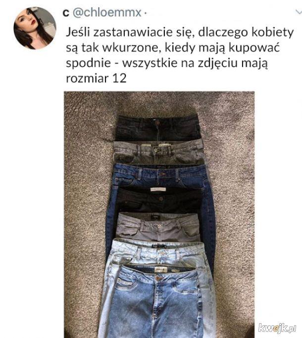 Kupowanie spodni