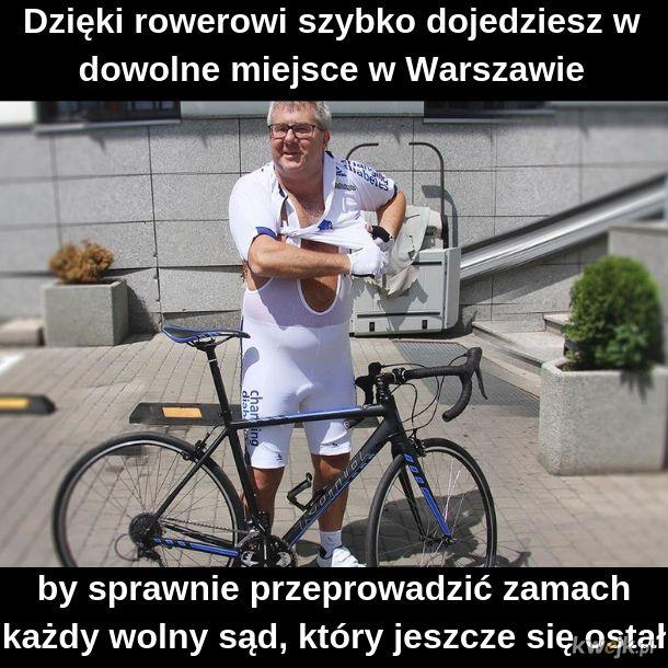Sądy są wolne, rowery są szybkie