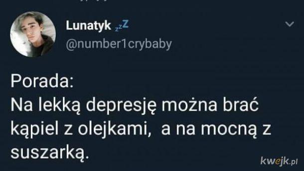 Lekka depresja i mocna