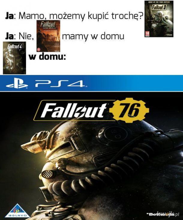 Fallout w domu