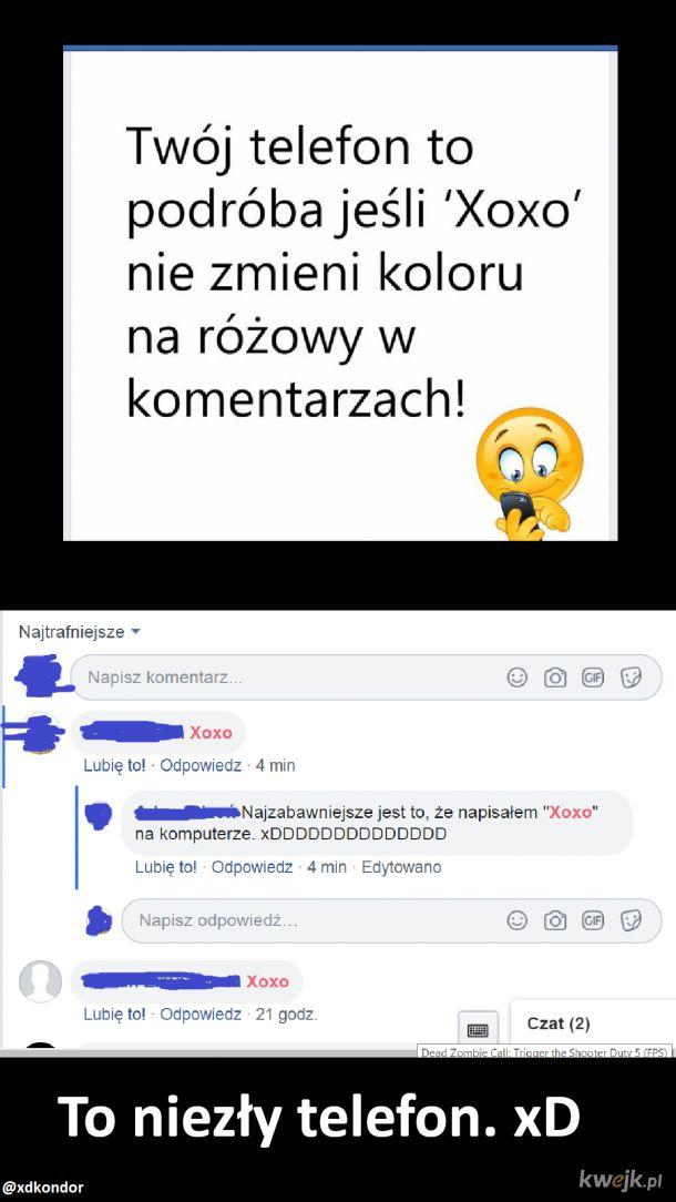 Typowe posty z fb